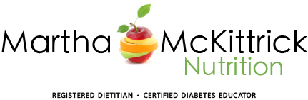 MARTHA MCKITTRICK NUTRITION • REGISTERED DIETITIAN • CERTIFIED DIABETES EDUCATOR • HEALTH & WELLNESS COACH • NYC Nutritionist