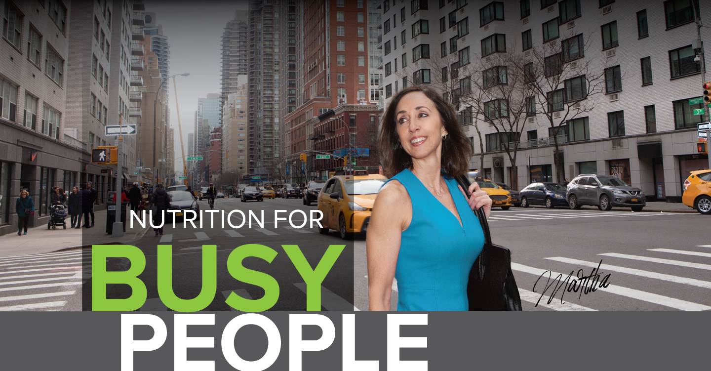 Martha Mckittrick, Nutrition for Busy People