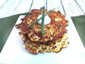 cauliflower-pancakes Lauren Harris-Pincus