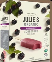 Julies organic bars