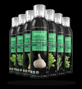 spray on herbs