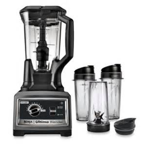 bed bath and beyond ninja blender