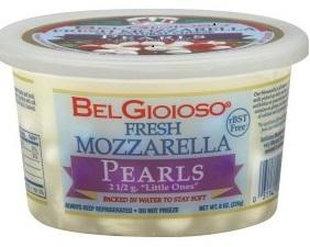 Bel Gioiso fresh mozzarella pearls