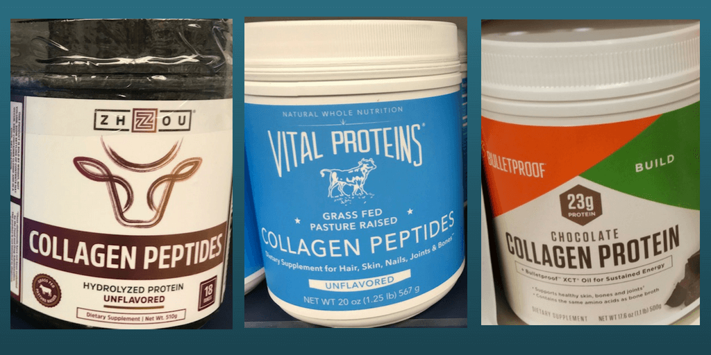 collagen protein background