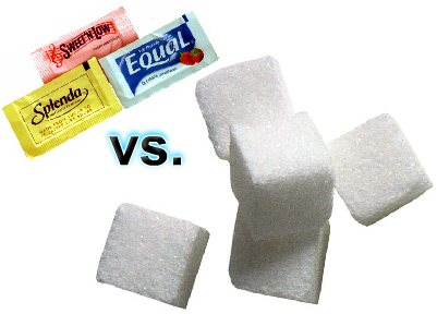 sugar vs artificial sweetener