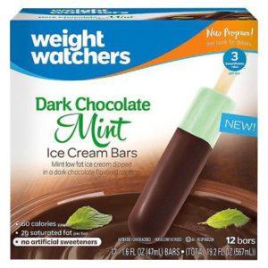 weight watchers mint bars
