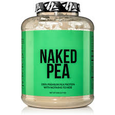 Naked pea protein