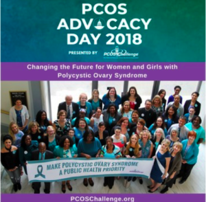 PCOS Challenge Advocacy Day 2018