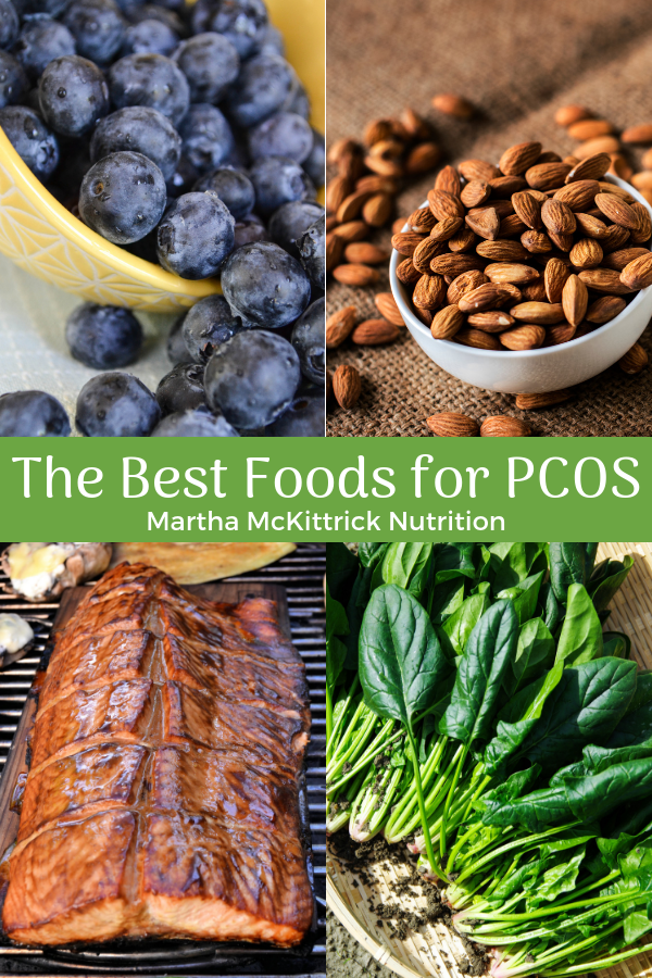 The Best Foods for PCOS | Martha McKittrick Nutrition