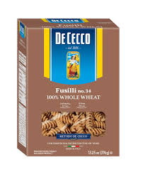 DeCecco whole wheat fusilli