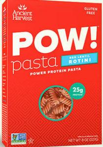 Pow Red Lentil pasta