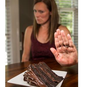 resisting cake