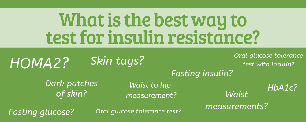 how to test for insulin resistance