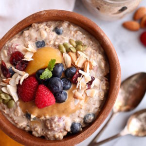 Nutrition in the kitchen overnight oats