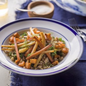 Epicured Meals, carrots and buckwheat