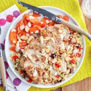 Green Chef, Chicken with carrots, cauliflower