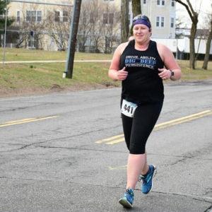 Ginny Silvestro running