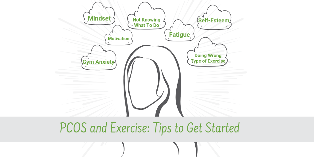 pcos and exercise: tips to get started