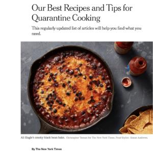 NYT recipes
